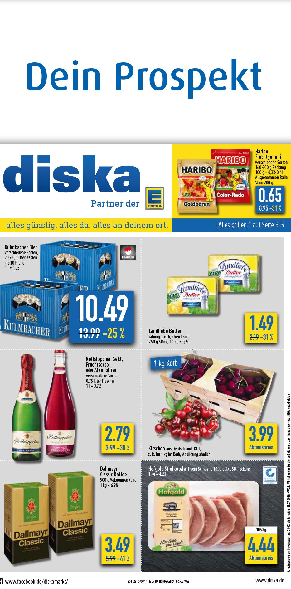 diska Prospekt für Bayern und Sachsen-Thüringen