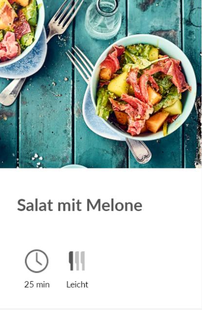 diska - Salat mit Melone